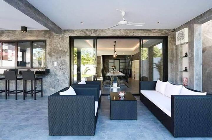 千葉で外構エクステリア工事を行うZOUSのオリジナルの屋外家具